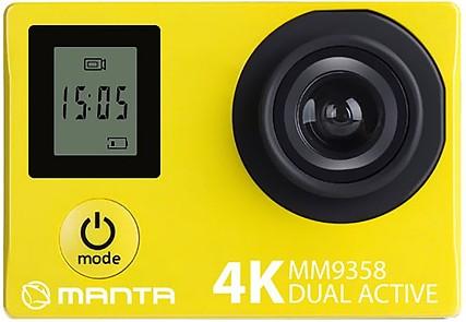 Kamera sportowa Manta MM9358 4K Dual Activ